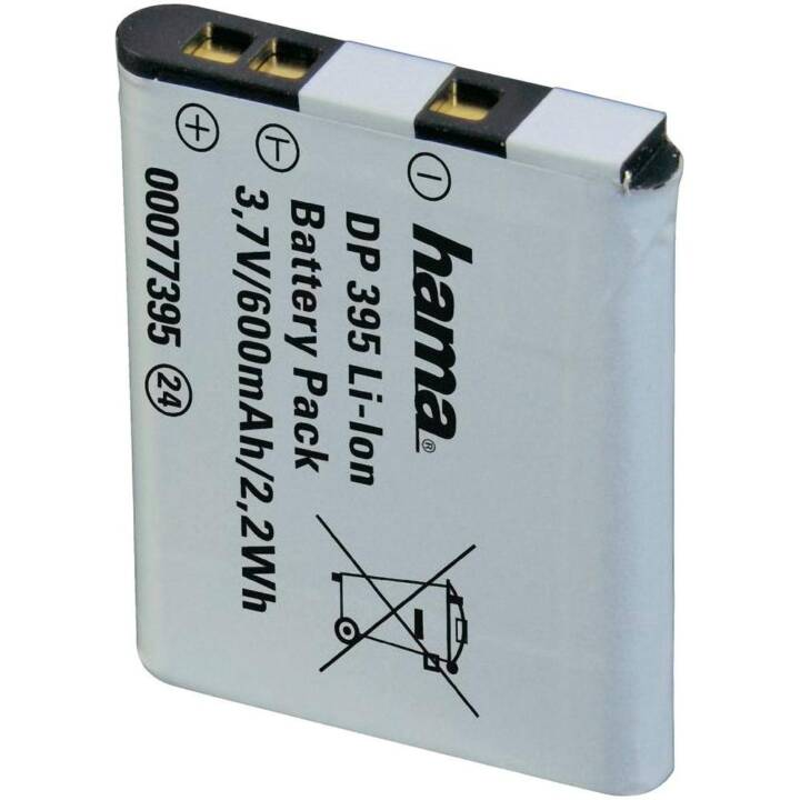 HAMA DP 395  Li-Ion Kamerabatterie, 600 mAh