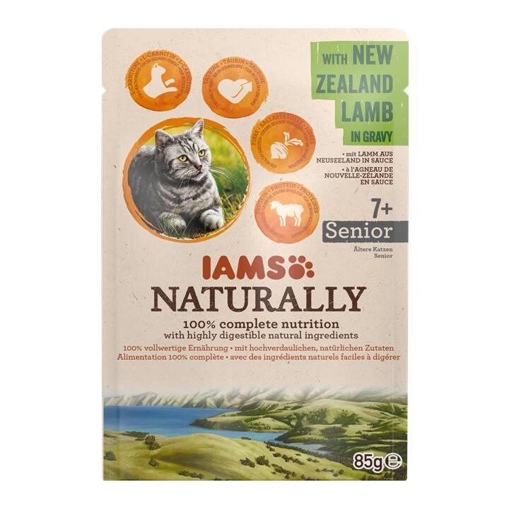 IAMS Naturally (Anziano, 85 g, Agnello)