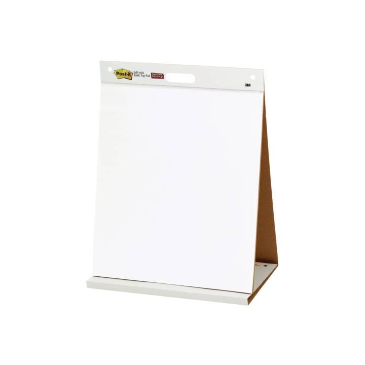 3M Flipchart Post-It Table Top Charts (508 mm x 584 mm)