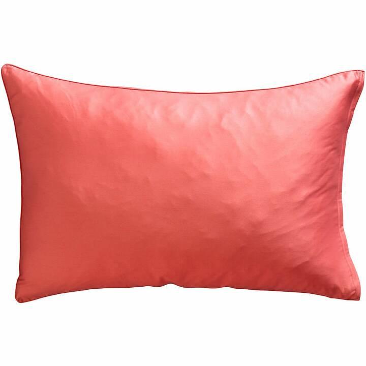 LIVIQUE Taie d'oreiler Daphne Red (65 cm x 65 cm)