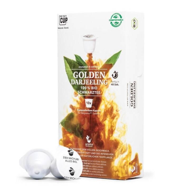 MY TEACUP Golden Darjeeling Tè nero (Tè in capsula, Nespresso, 10 pezzo)