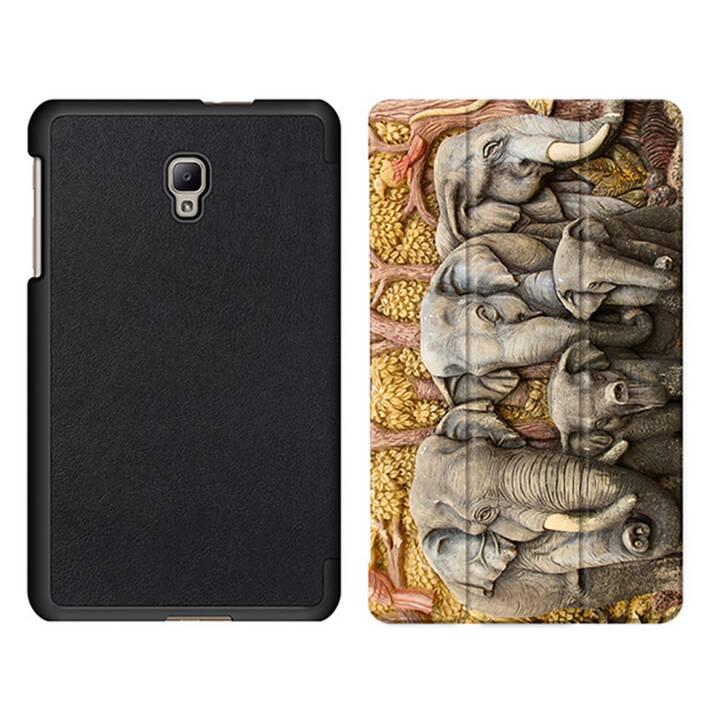 """EG MTT Sacoche à comprimés avec housse pliable Smart pour Samsung Galaxy Tab A 8"""" (2017) - Elephant Tablet"""