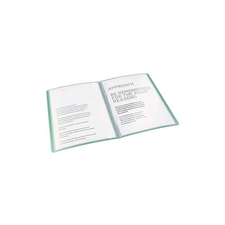 ESSELTE GROUP Libro della vista Ice (Verde, A4, 1 pezzo)
