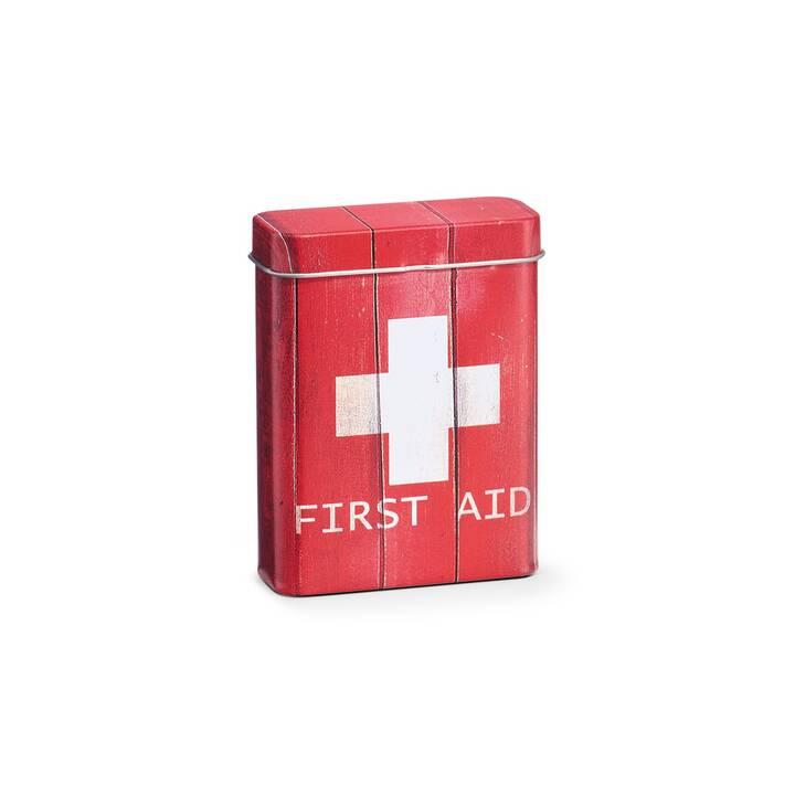 ZELLER PRESENT Erste Hilfe Schrank First Aid (Rot)
