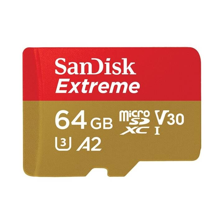 SANDISK microSDXC Extreme 64 GB A2