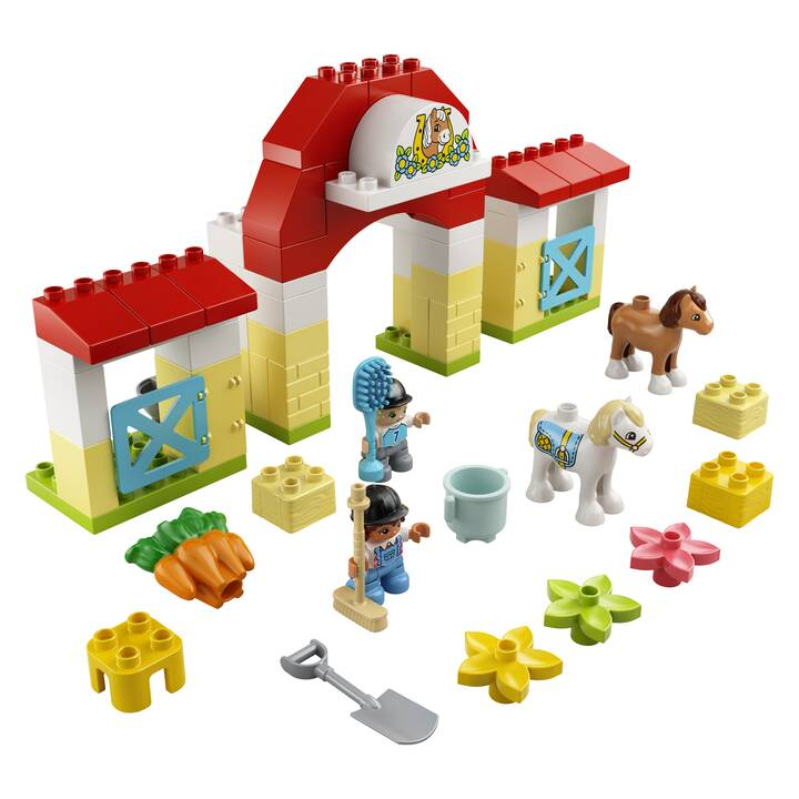 LEGO DUPLO L'écurie et les poneys (10951)
