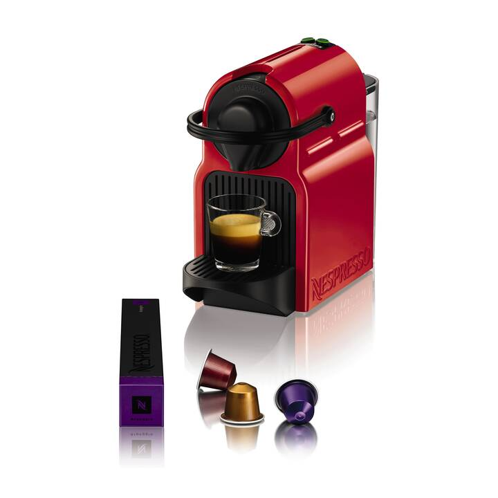 KRUPS Inissia XN1005 (Nespresso, Rosso)