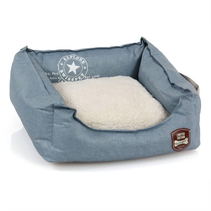 SWISSPET Schlafplatz Denim (Blau, Cream)