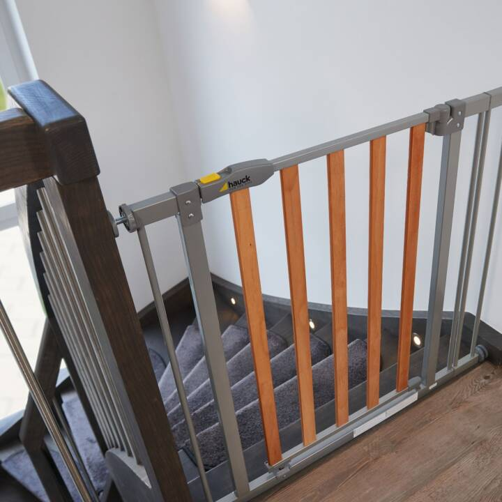 HAUCK Canceletto di securezza per porte Wood Lock Safety Gate (80 cm)