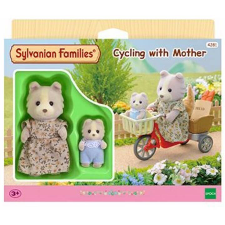 SYLVANIAN FAMILIES Faire du vélo avec la mère