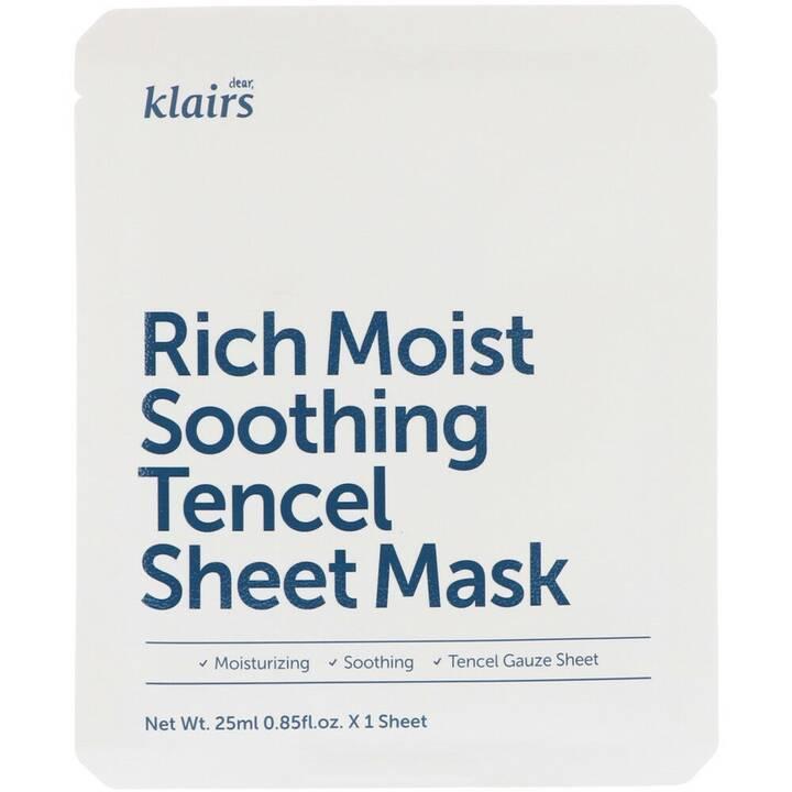 KLAIRS Rich Moist Soothing Tencel Sheet Mask (25 ml)