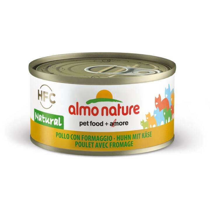 ALMO NATURE HFC Natural (Adulto, 1 x 70 g, Pollo, Formaggio)