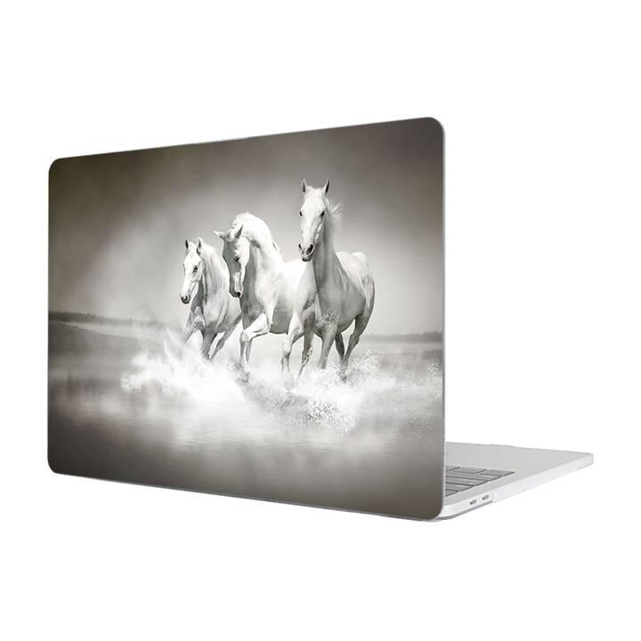"""EG MTT Housse pour Macbook Pro 13"""" pas Touchbar (2016 - 2018) - cheval"""