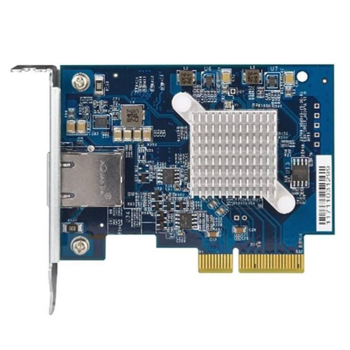 QNAP SYSTEMS Netzwerkadapterkarte (PCI Express 3.0, RJ-45)