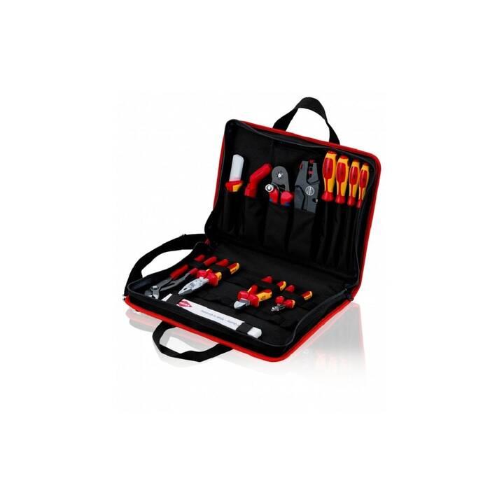 KNIPEX Borsa portautensili Kompakt Elektro 14 parti