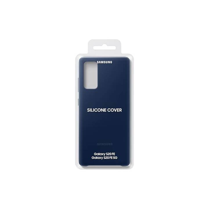 SAMSUNG Backcover Silicone Cover (Galaxy S20 FE, Navy Blue)