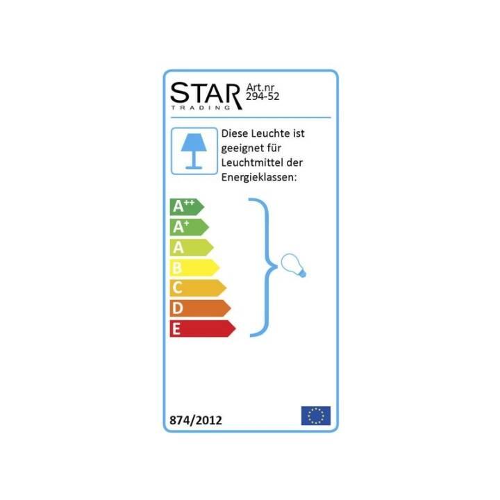 STAR TRADING Glaze Lampada o sospensione (Lampada ad incandesce)