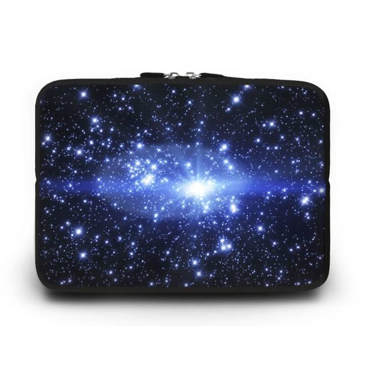 """EG HUADO Housse ordinateur portable pour 9"""" - Etoiles"""