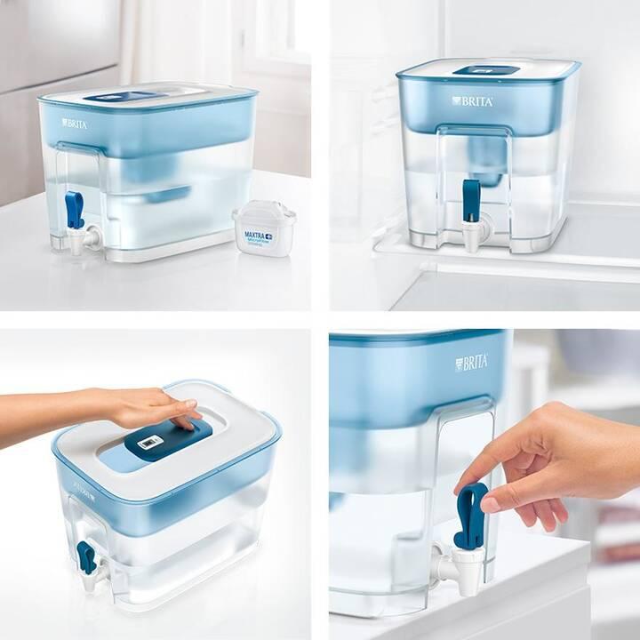 BRITA Carafe filtrante Flow bleu