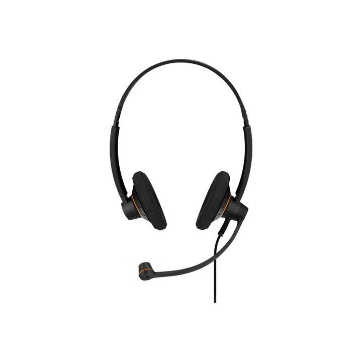 EPOS Cuffia per ufficio Impact SC 60 (On-Ear, Duo, Cavo, Nero)