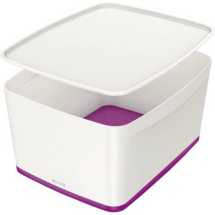 LEITZ MyBox Boîtes de rangement (Blanc, Violet)