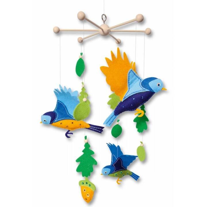 FOLIA Birds Mobile (Coudre, Coller)