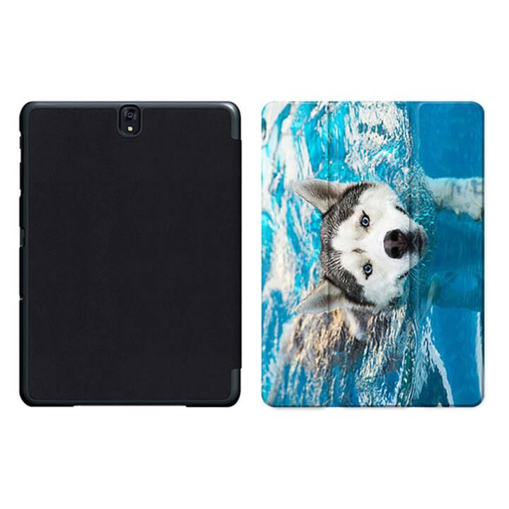 """EG MTT Sacoche à comprimés avec housse pliable Smart pour Samsung Galaxy Tab S3 9.7"""" - Dog MTT"""