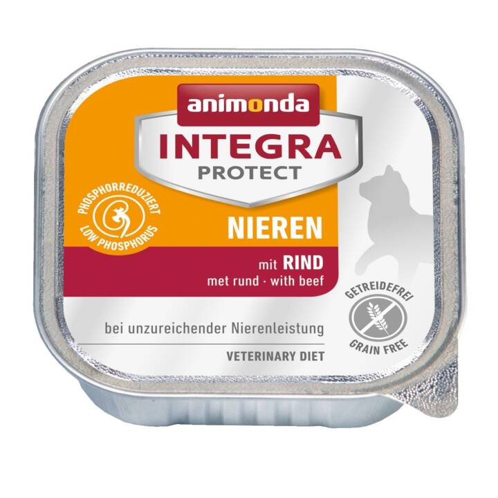 ANIMONDA Integra Protect Nieren (Adulto, 100 g, Manzo)