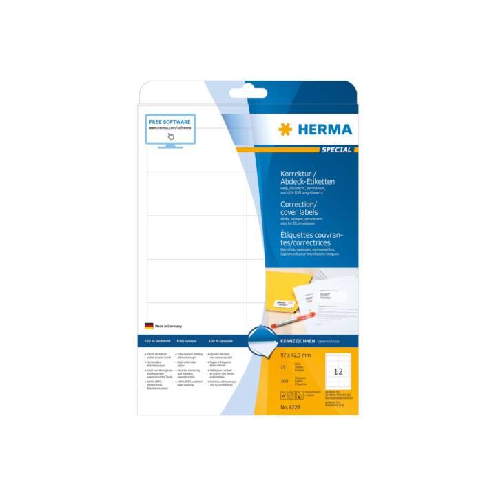 HERMA Etichette (25 foglio, A4)