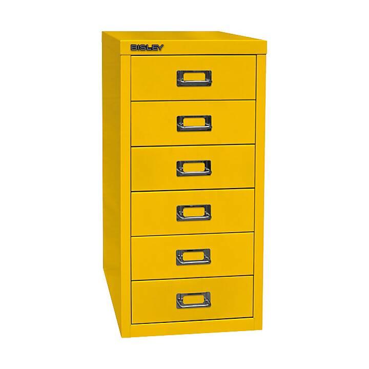 BISLEY MultiDrawer Schubladenbox (A4, Gelb)