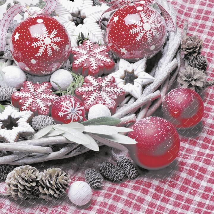 STEWO Madita Weihnachtsservietten (33 x 33 cm)