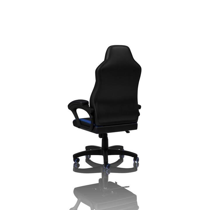 NITRO CONCEPTS C100 Gaming Stuhl (Schwarz, Blau)
