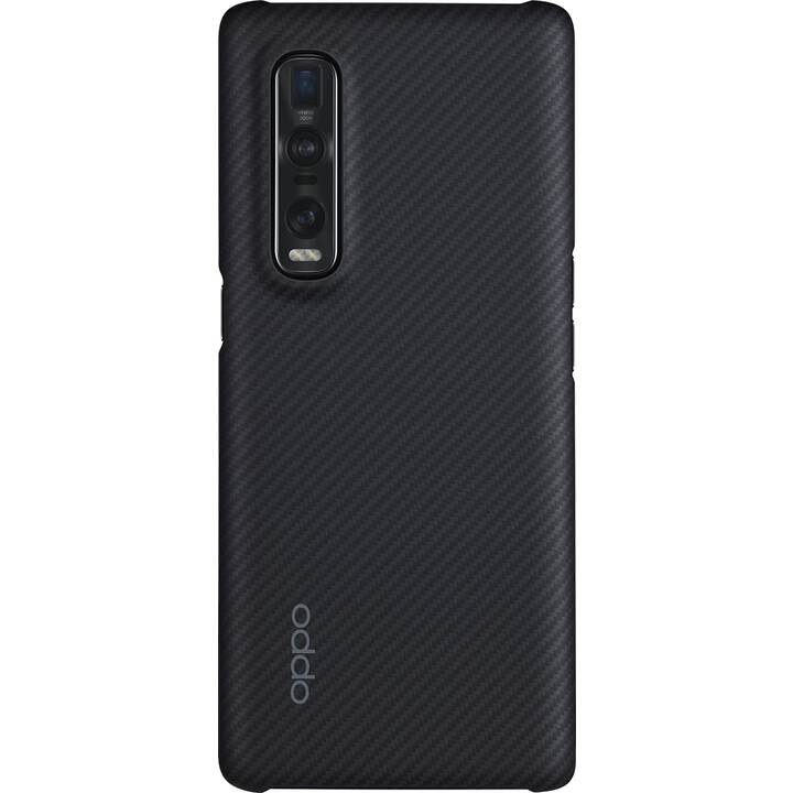 OPPO Backcover Protective Case (Find X2 Pro, Nero)