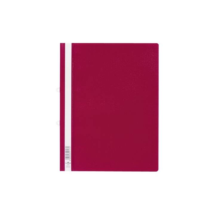 DURABLE Display booklet A4 rosso