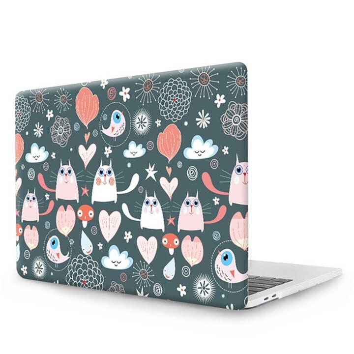 """EG MTT Cover pour MacBook Pro 15"""" Touch Bar - Cartoon Cats"""