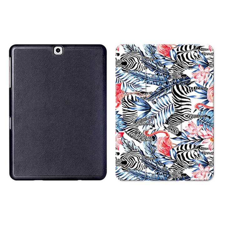 """EG MTT Tablet Tasche mit Smart faltbare Abdeckung für Samsung Galaxy Tab S2 9.7 """"- Flamingo"""