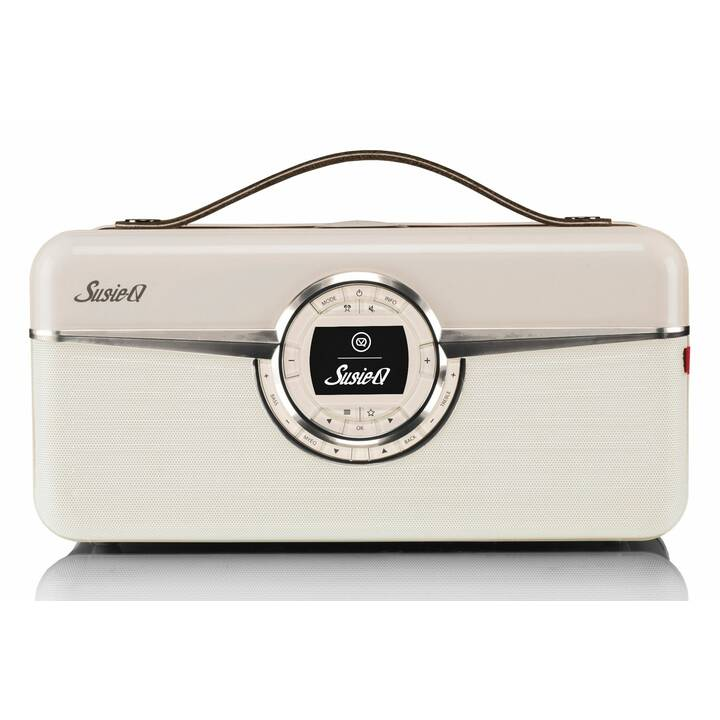 VIEW_QUEST Susie-Q Radio per cucina / -bagno (Marrone)