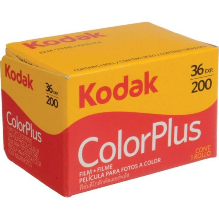 KODAK Color plus 200 Analogfilm, 135 (35 mm), 36 Schüsse