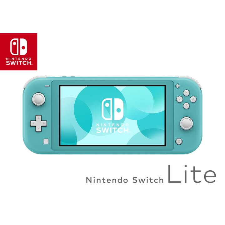 NINTENDO Switch Lite Turquoise 32 GB (Tedesco, Italiano, Francese)
