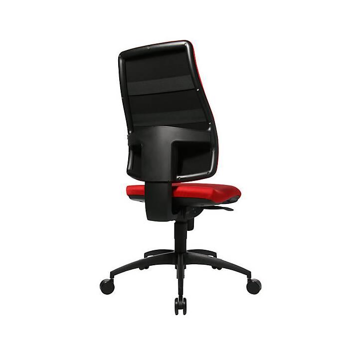 TOPSTAR Bürostuhl (Rot, Graphite Black)