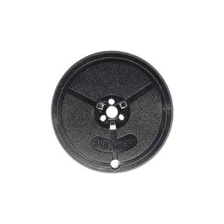Nastro KORES in seta nera Olivetti 13mm/10m