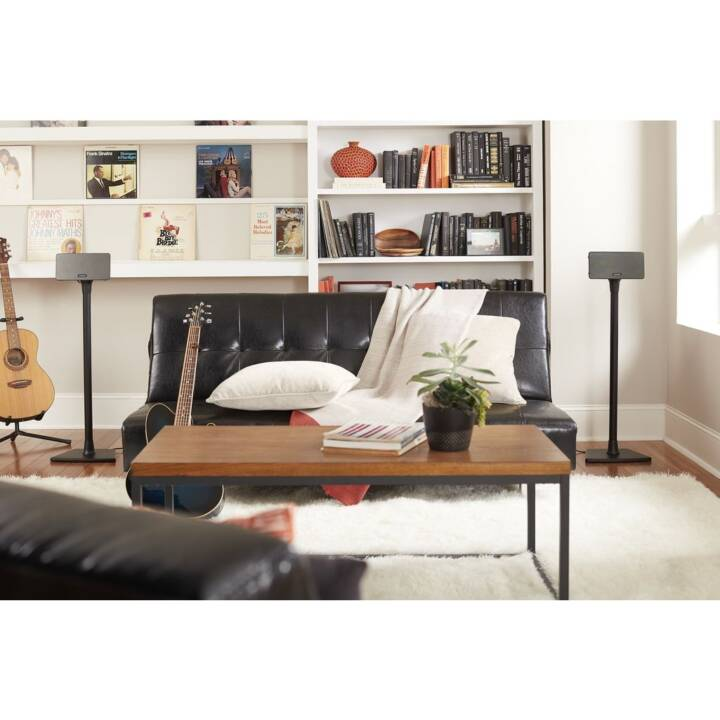 SANUS SYSTEMS Colonne base WSS22 (Sonos One, Play:1, Play:3, Nero)