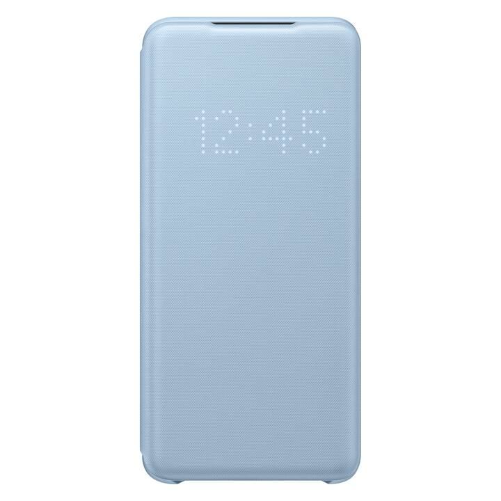 SAMSUNG Flipcover Book LED (Galaxy S20, Blu)