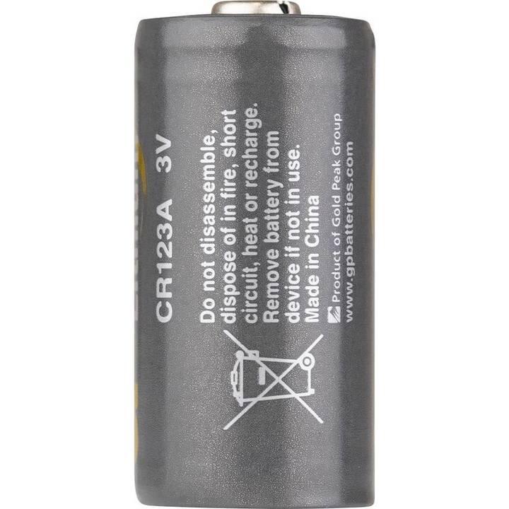 GP BATTERIES Lithium Batterie (CR123A, 10 pièce)