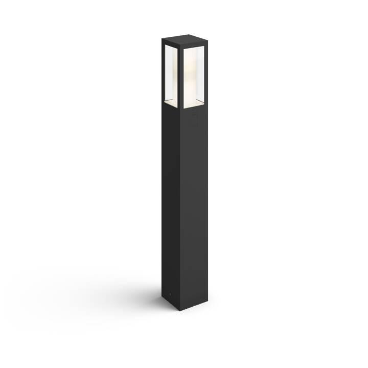 PHILIPS HUE Wegleuchte Impress (LED, 16 W, Schwarz)
