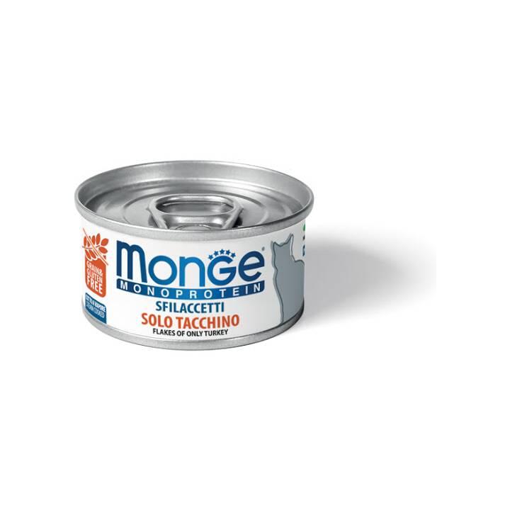 MONGE Cat Wet (Adulte, 80 g, Poule)