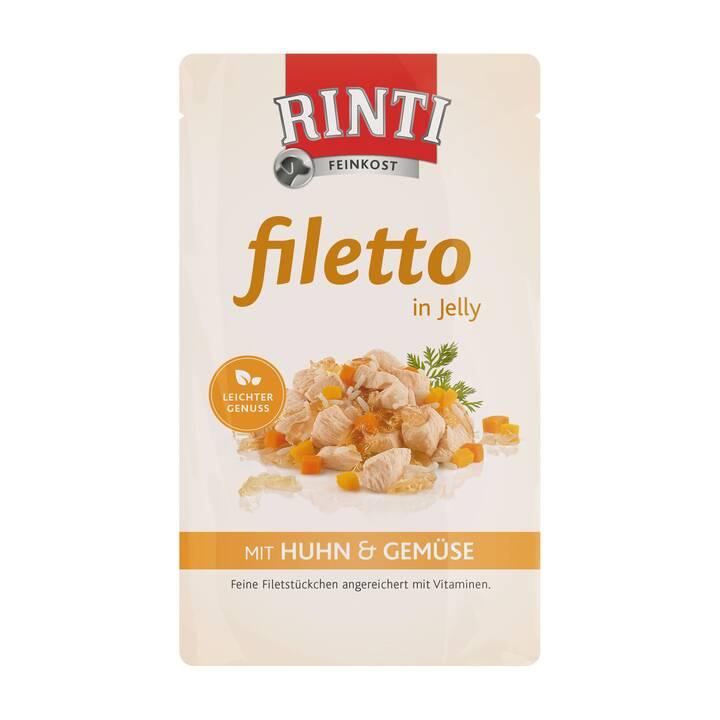 RINTI Filetto in Jelly Nassfutter (100 ml, Adult)