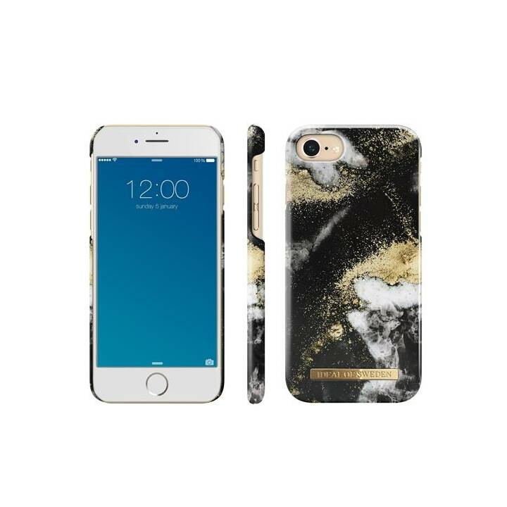 IDEAL OF SWEDEN Backcover Black Galaxy (iPhone 8, iPhone 7, iPhone 6, iPhone 6s, Mehrfarbig)