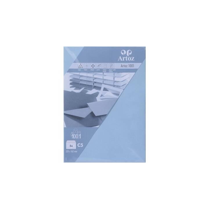 ARTOZ 1001 Pastellblau C5 ohne Fenster