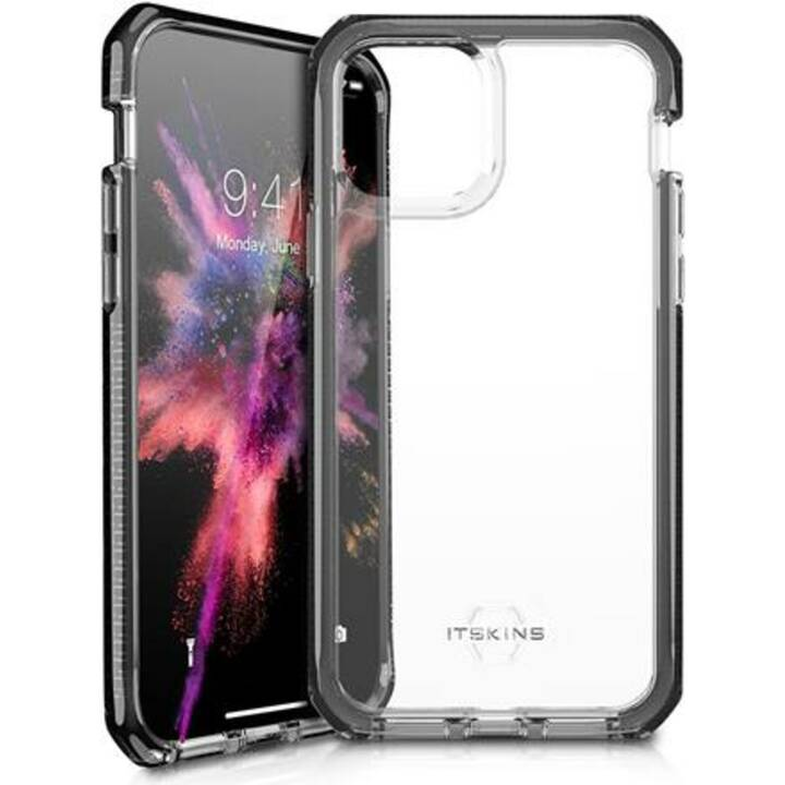 ITSKINS Backcover TPU (iPhone 11 Pro Max, Noir, Transparent)